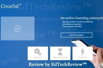 Creati.st - Complete Online Active Learning Solution - EdTechReview (ETR) thumbnail