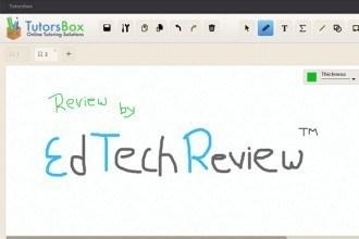 Tutorsbox - Online Tutoring Whiteboard - EdTechReview™ (ETR) thumbnail