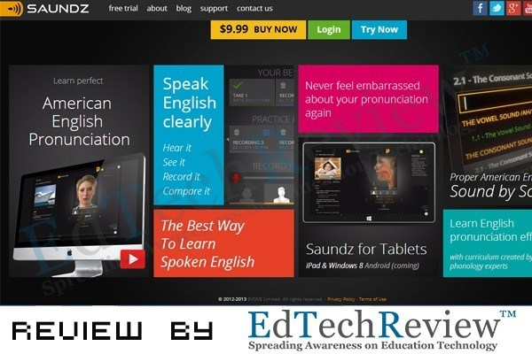 Saundz - English Pronunciation App - EdTechReview™ (ETR) thumbnail