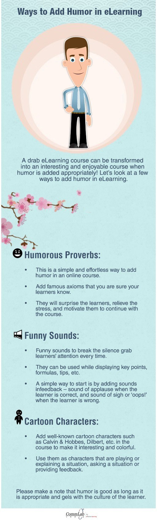 Ways to Add Humor in eLearning – An INFOGRAPHIC thumbnail