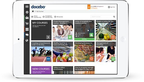 The new Docebo Learning Management System is now available thumbnail