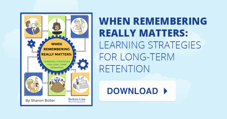 Four Strategies for Long-Term Retention in Corporate Learning (White Paper) » thumbnail