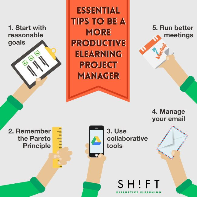 5 Indispensable Tips to Be a More Productive eLearning Project Manager thumbnail