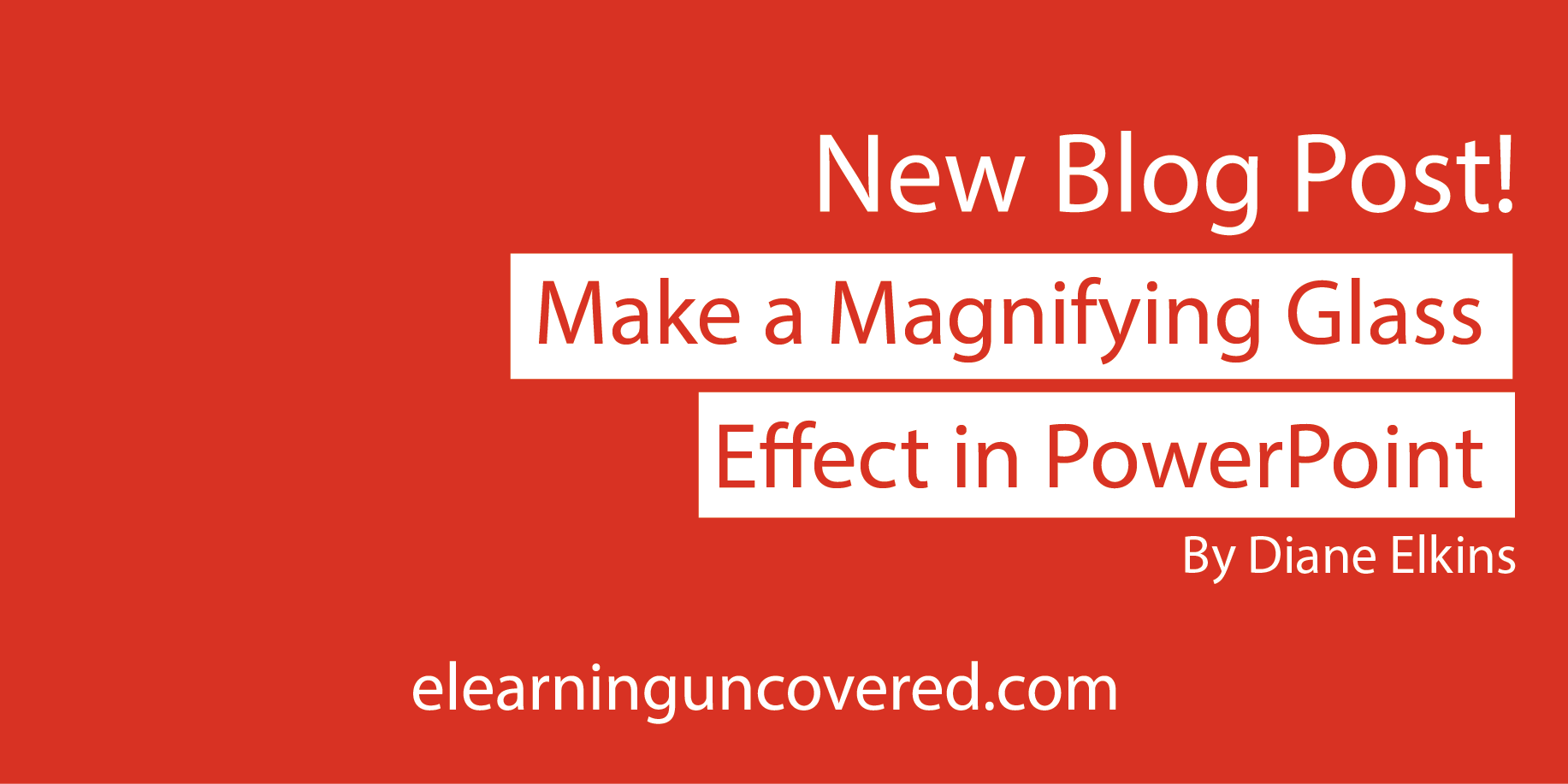 Make a Magnifying Glass Effect in PowerPoint - E-Learning Uncovered thumbnail