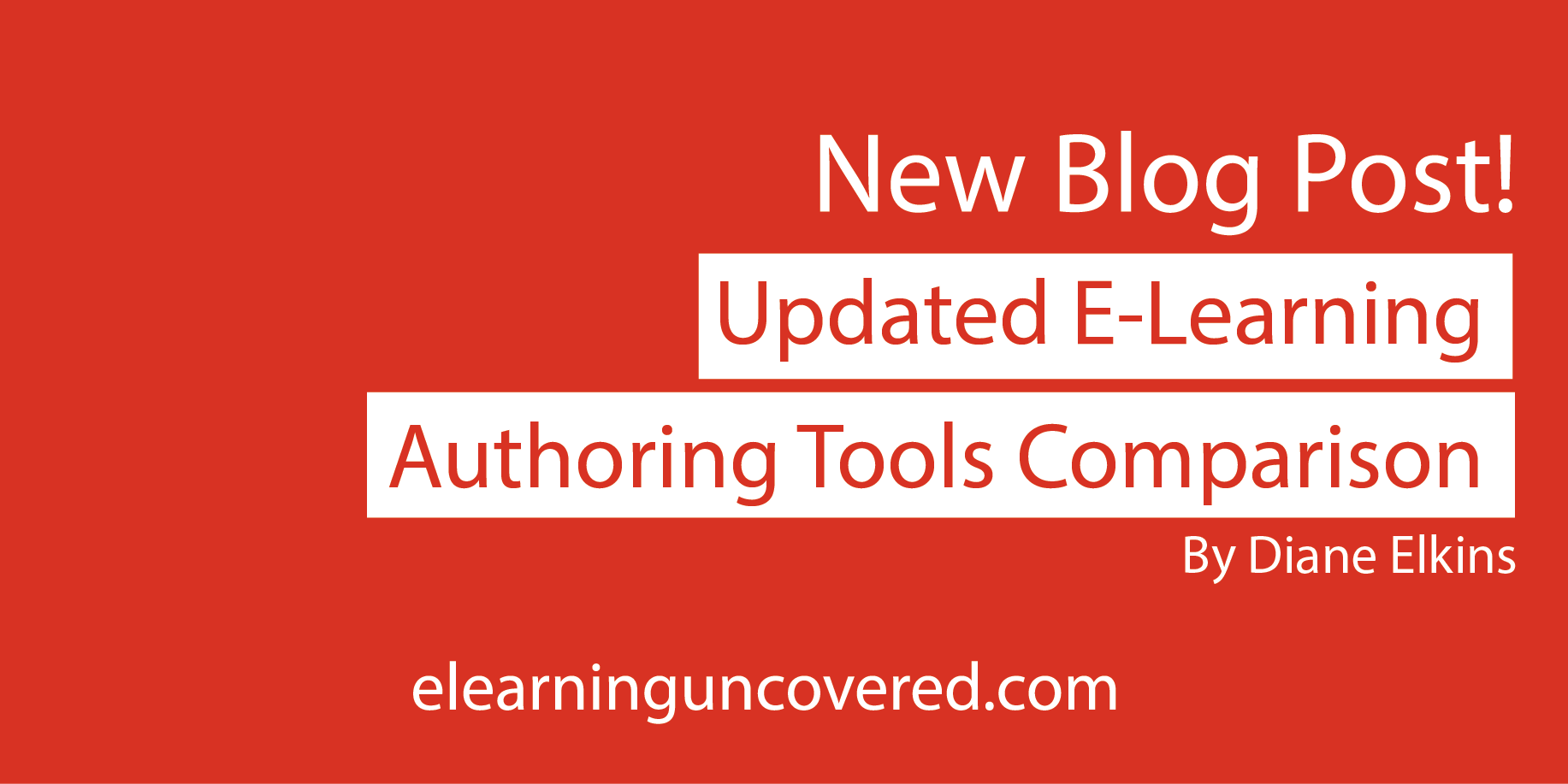 Updated E-Leaning Authoring Tools Comparison - E-Learning Uncovered thumbnail