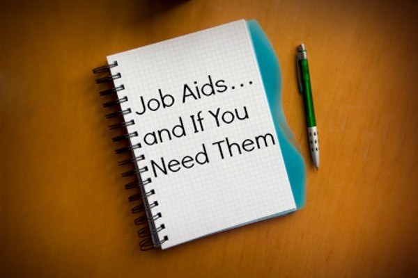 Job Aids... And If You Need Them thumbnail