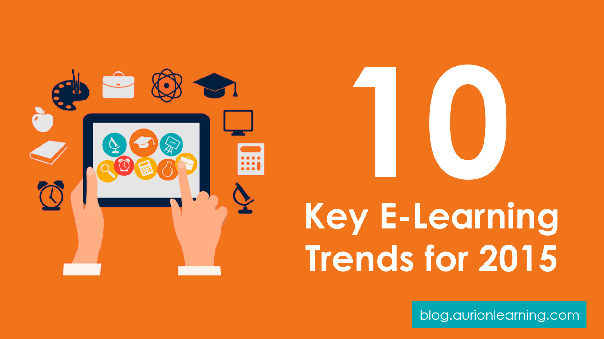 Learning is Evolving: 10 Key E-Learning Trends for 2015  | Aurion Learning thumbnail