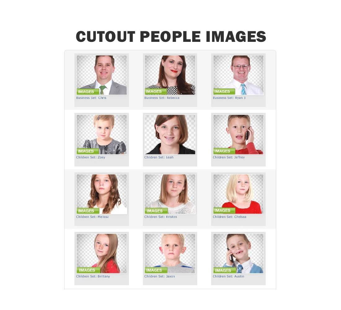 A Fresh Batch of Over 2,100+ Cutout People Images thumbnail