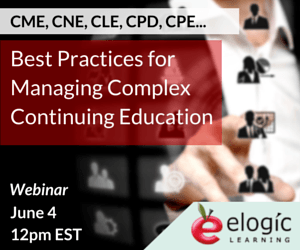 Free Webinar: Best Practices for Managing Complex Continuing Education - eLearning Industry thumbnail