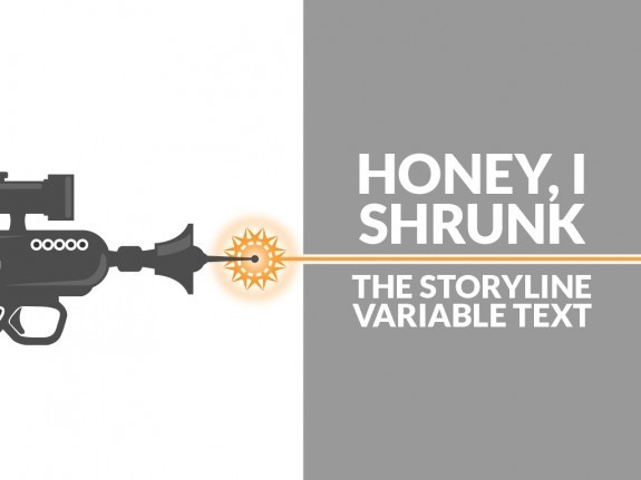 Honey I Shrunk the Storyline Variable Text - eLearning Brothers thumbnail