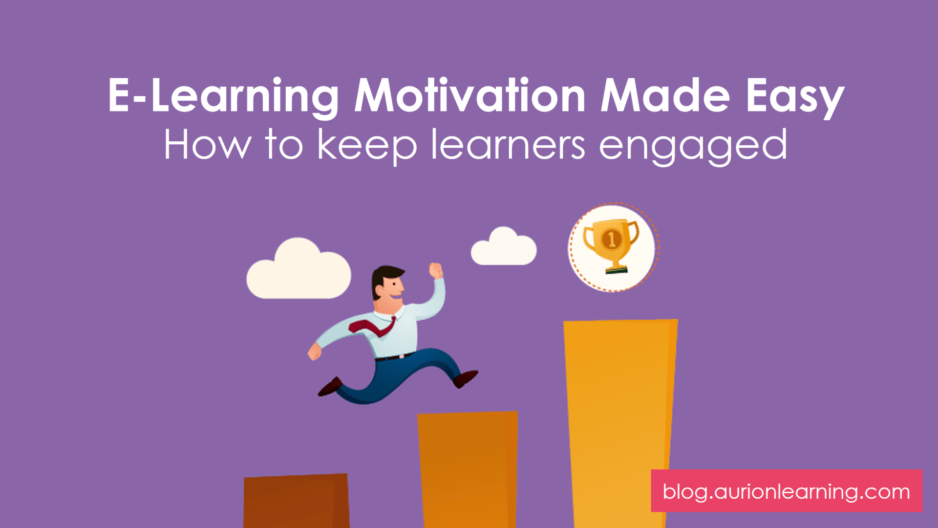 E-Learning Motivation Made Easy: How To Keep Learners Engaged | Aurion Learning thumbnail