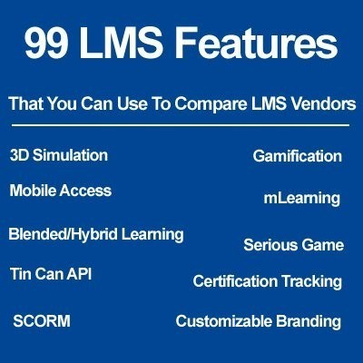 Learning Management Systems Comparison Checklist of Features - eLearning Industry thumbnail