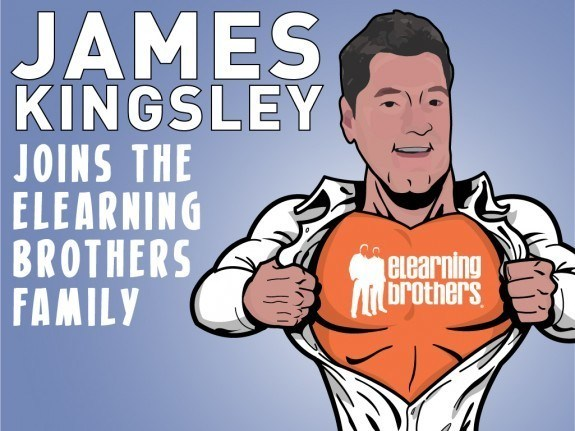 James Kingsley Joins the eLearning Brothers Family - eLearning Brothers thumbnail