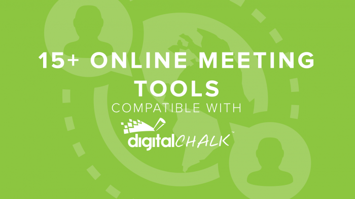 15+ Online Meeting Tools Compatible with DigitalChalk | DigitalChalk Blog thumbnail