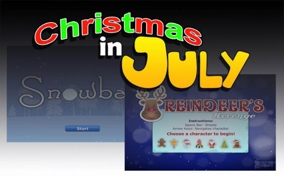 Christmas in July! 2 Free Flash eLearning Games thumbnail