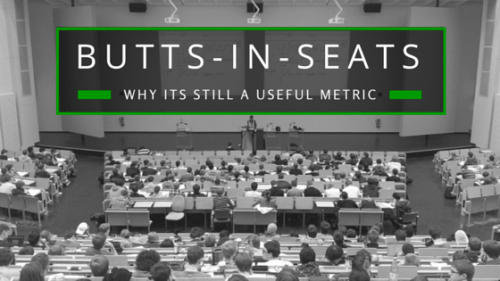 Why Butts-in-seats is Still an Important Measurement thumbnail