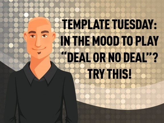 "Template Tuesday: In the Mood to Play ""Deal or No Deal""? Try this! - eLearning Brothers thumbnail"