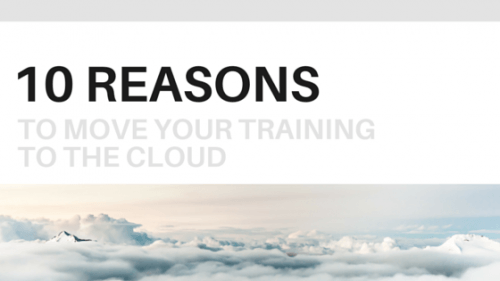 10 Reasons to Move Your Training to the Cloud thumbnail