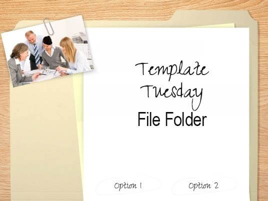 Template Tuesday: File Folder - eLearning Brothers thumbnail