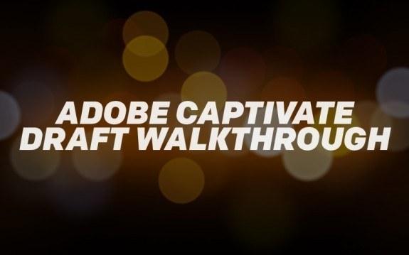 Adobe Captivate Draft Walkthrough - eLearning Brothers thumbnail