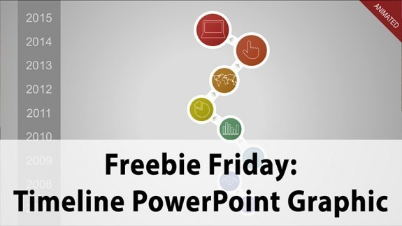 Freebie Friday: Download Timeline - a Free PowerPoint Graphic Template thumbnail