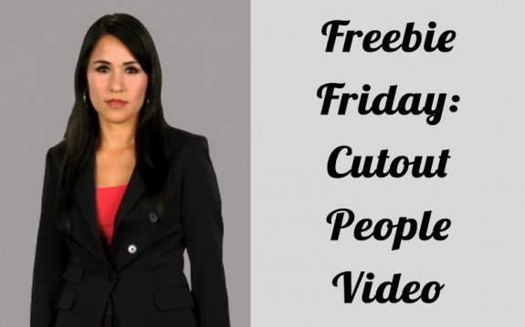 Freebie Friday: Cutout People Video » eLearning Brothers thumbnail