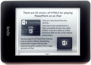 How to Open Your PowerPoint Presentation on Kindle thumbnail