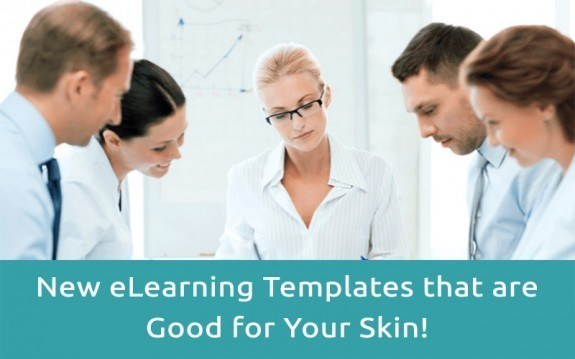 New eLearning Templates that are Good for Your Skin! » eLearning Brothers thumbnail