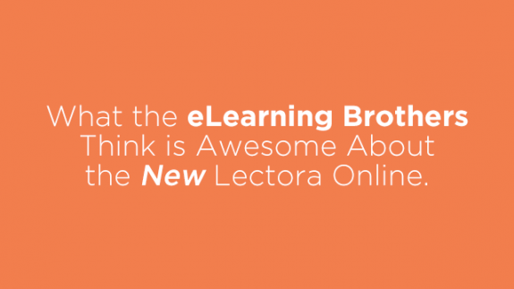 Webinar: What is Awesome About the New Lectora Online 3 » eLearning Brothers thumbnail