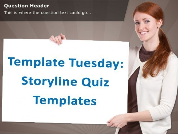Template Tuesday: Storyline Quiz Templates » eLearning Brothers thumbnail