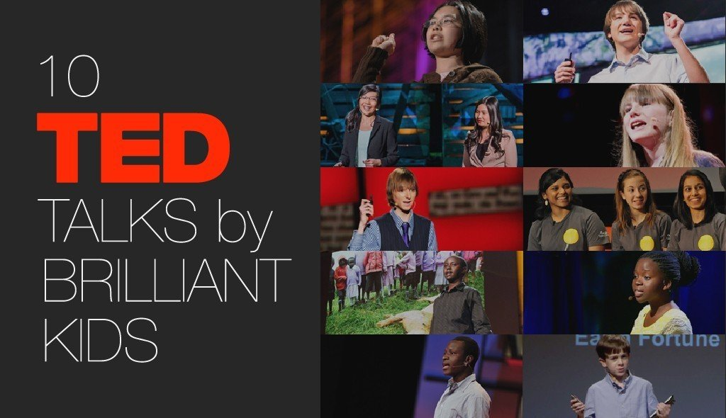 10 TED Talks By Brilliant Kids thumbnail