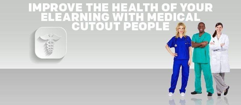 Improve the Health of Your eLearning with Medical Cutout People » eLearning Brothers thumbnail