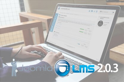 JoomlaLMS announced the release of JoomlaLMS 2.0.3 version thumbnail