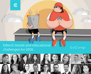 10 Experts' predictions for education and technology in 2016 - GoConqr thumbnail