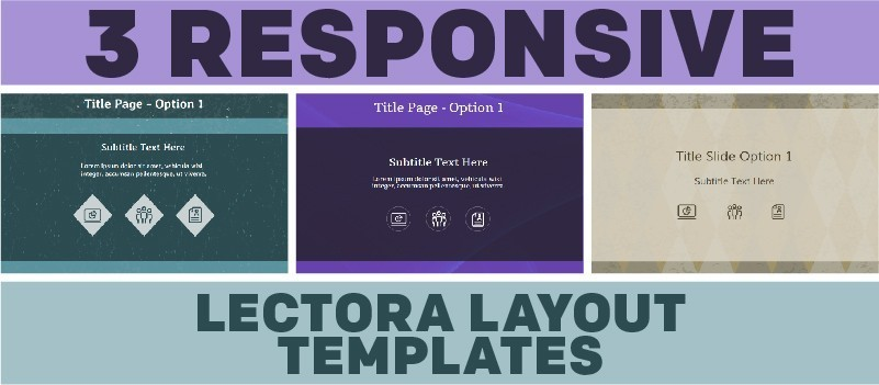 3 Responsive Lectora Layout Templates » eLearning Brothers thumbnail