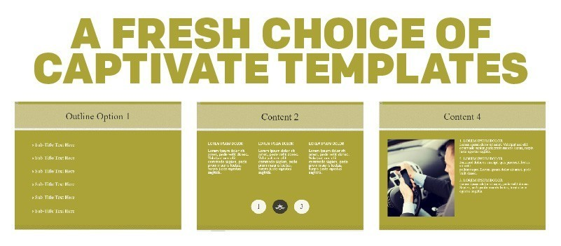 A Fresh Choice of Captivate Templates » eLearning Brothers thumbnail