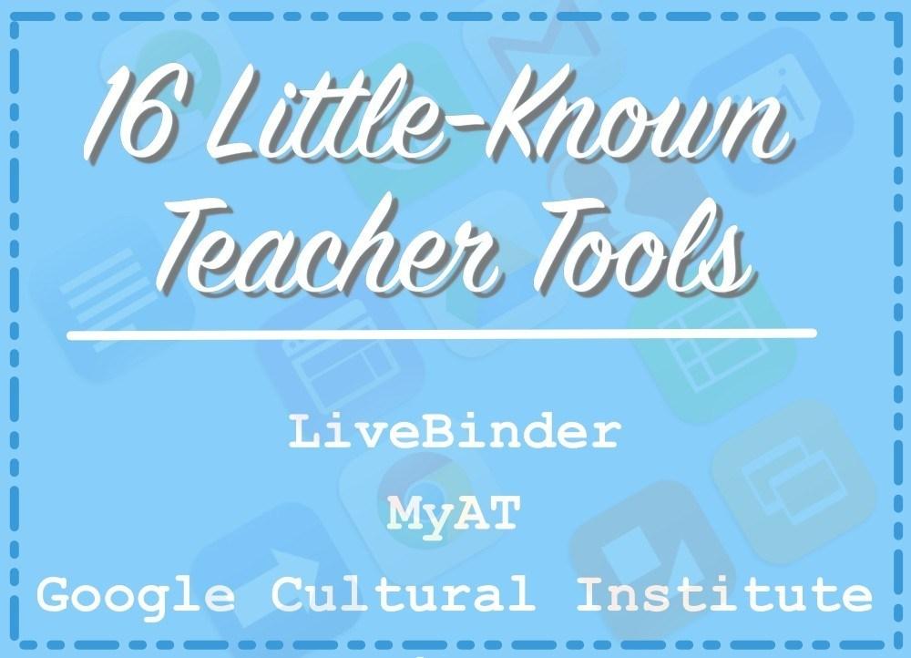 16 Little-Known Teacher Tools thumbnail
