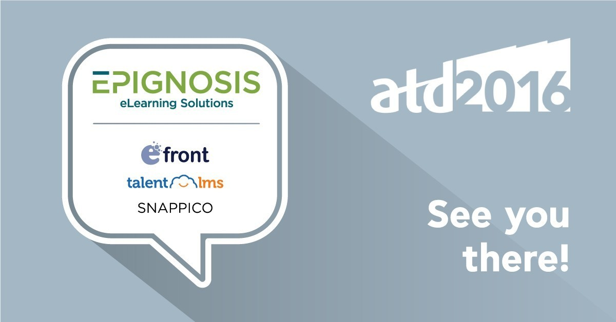Epignosis announces Bronze Sponsorship of the ATD 2016 Exposition thumbnail