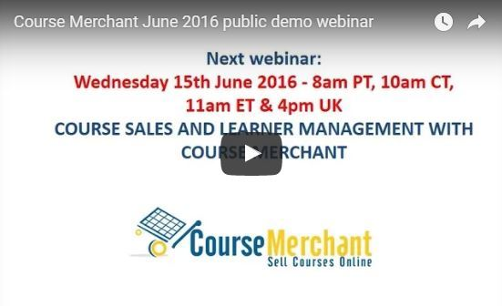 Next Course Merchant ecommerce how-to webinar June 15! Sign up now thumbnail
