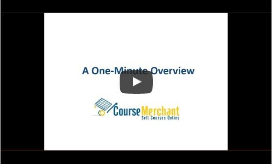 A one-minute introduction to Course Merchant [video] thumbnail