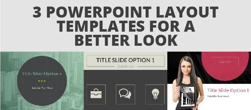 3 PowerPoint Layout Templates For a Better Look » eLearning Brothers thumbnail