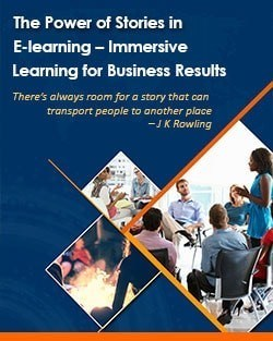 The Power of Stories in E-learning - Immersive Learning for Business Results - Ebook thumbnail