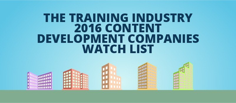 The Training Industry 2016 Content Development Companies Watch List » eLearning Brothers thumbnail