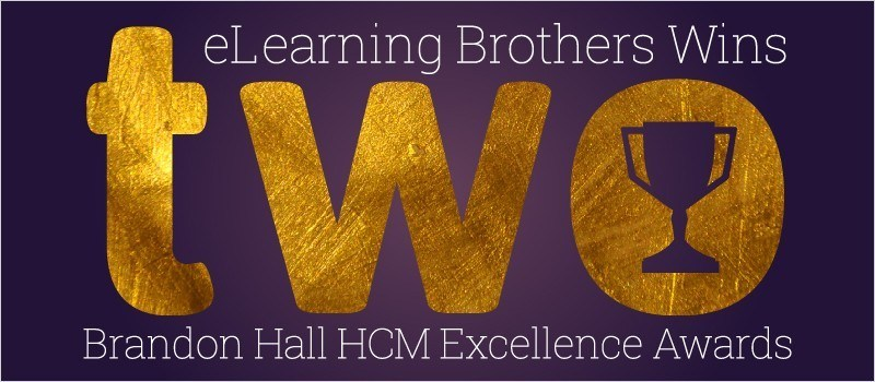 eLearning Brothers Wins Two Brandon Hall HCM Excellence Awards » eLearning Brothers thumbnail