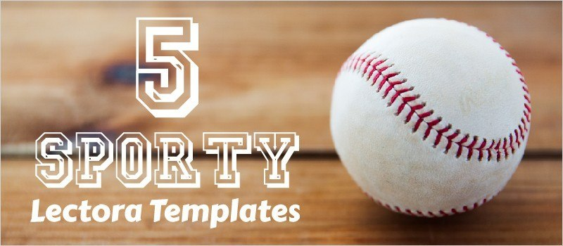 5 Sporty Lectora Templates » eLearning Brothers thumbnail