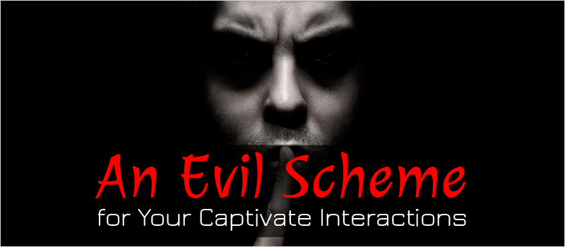 An Evil Scheme for Your Captivate Interactions » eLearning Brothers thumbnail