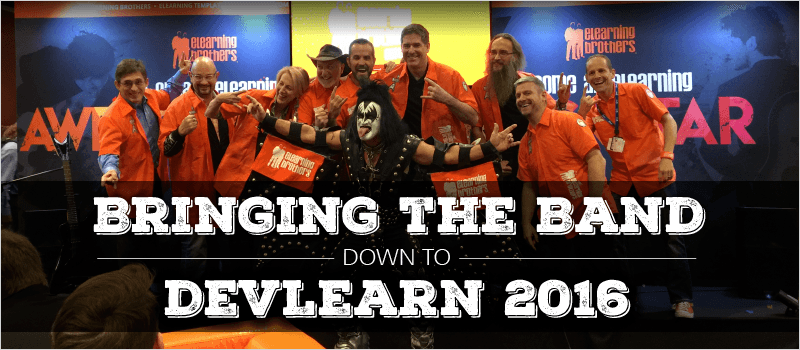 Bringing the Band Down to DevLearn 2016 » eLearning Brothers thumbnail