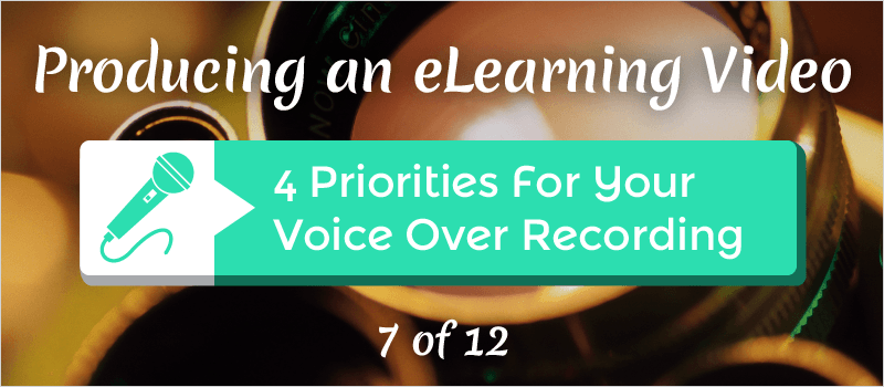 4 Priorities For Your Voice Over Recording » eLearning Brothers thumbnail