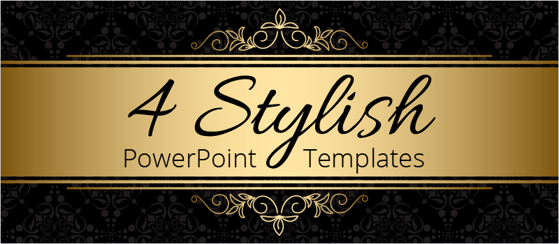 4 Stylish PowerPoint Templates » eLearning Brothers thumbnail