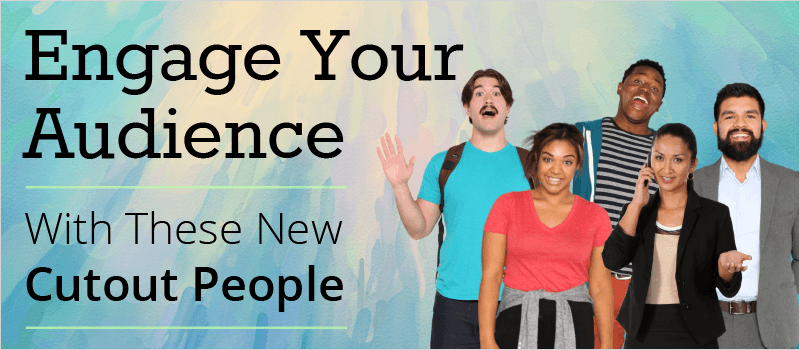 Engage Your Audience With These New Cutout People - eLearning Brothers thumbnail